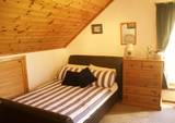 Extra double bed in family room ensuite Westrow Lodge Bed & Breakfast A964