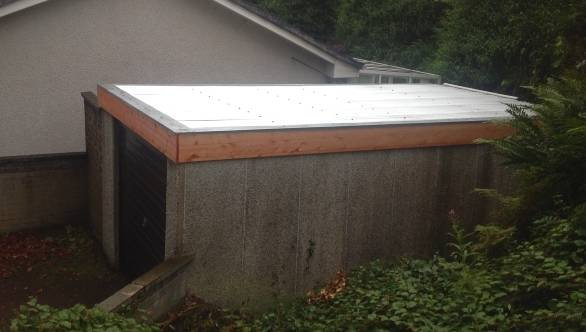 Finished roof Profile Photos of Garage Roof Scotland 67 Durham Road - Photo 2 of 5