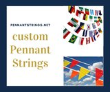 New Album of Custom Pennant Strings