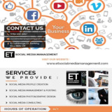 Social Media Management and Online Marketing East London