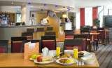 Enjoy a tasty, buffet breakfast, which is completely free with Holiday Inn Express