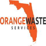 Orange Dumpster Miami