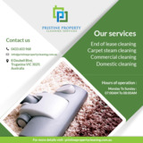 PRISTINE PROPERTY SERVICES | Steam cleaning Melbourne