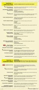 Menus Prices 6 Pages California Pizza Kitchen 01 42 Appetizers