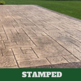 Milford Stamped Concrete