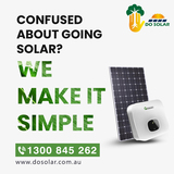 Confused about going solar? We make it simple.⛅️😀<br />