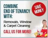 Pricelists of End of Tenancy Cleaning