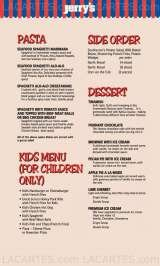 Pricelists of Jerry's BBQ and Grill @ Club Street