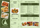 Pricelists of The Kurry Lounge - Indian Restaurant Hamilton