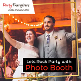 Lets Rock Party with Photo Booth