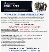 Profile Photos of RESUME REBUILDERS ~ Professional Resume Writing Services