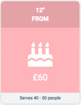 Pricelists of Creative Cakes by Jenny