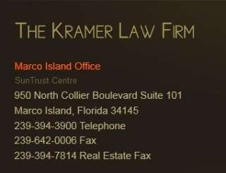 The Kramer Law Firm P.A.