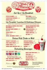 Pricelists of Ruby's Diner