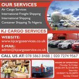 New Album of KJ Cargo Services | Vehicle Shipping To Nigeria from London