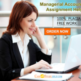 We Provides The Best Managerial Accounting Assignment Solutions