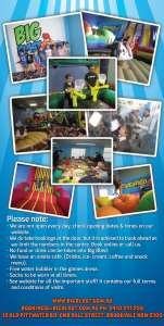 Pricelists of Big Blast Kids Parties & Play Centre