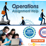 Best Operations Assignment Help and Writing Services Online UK