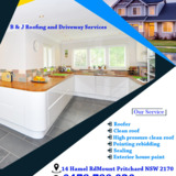 B & J Roofing and Driveway Services
