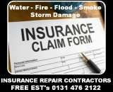 Storm Damage Roof Repairs in Edinburgh and  Throughout Central Scotland, Roofers In Edinburgh