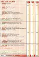 Menus Prices 4 Pages Napoli Pizza Crystal Palace Take Away