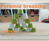 Pyramid Breaking  Game Stall JOL events Pune