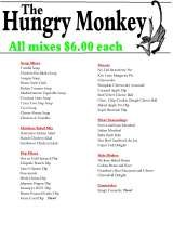 Pricelists of The Hungry Monkey, LLC