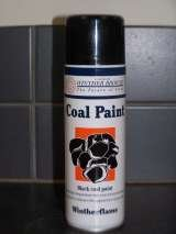 High Temp Matt Black Paints for Gas Coals - up to 650oC Heat Resistant