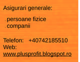 Pricelists of Consultanta si intermediere Asigurari