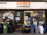 DIY & LOCKSMITH STORE FRONT, KHAN'S LOCKSMITH & D.I.Y | Emergency locksmith | Fob key copy | Painting & Decorating | Tools & Hardwares | Handyman Services | Plumbing & Electrical, bethnal green