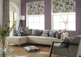 Roman Blinds and soft furnishings.