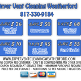 Dryer Vent Cleaning Weatherford TX
