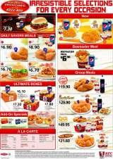 Pricelists of KFC @ Zoological Gardens (Playland)