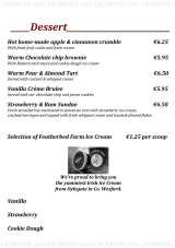 Pricelists of Ouzos Bar & Grill