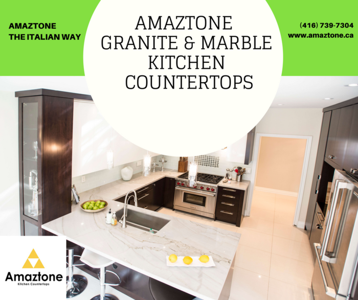 New Album of Granite Quartz & Marble Countertops for Kitchen - Amaztone 55 Brisbane Rd - Photo 5 of 9