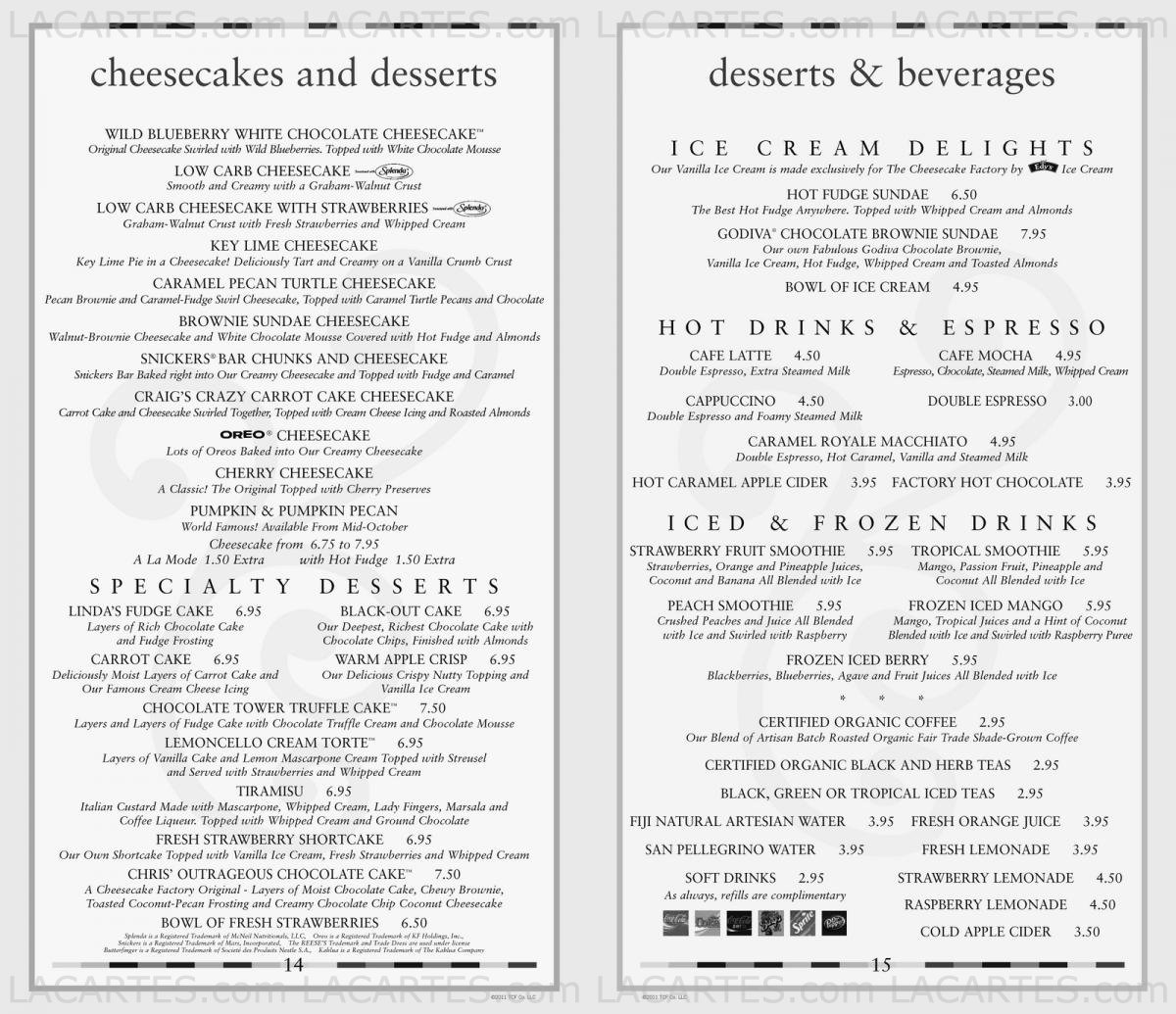 picture relating to Cheesecake Factory Printable Menu named Dwelling Selling prices For British isles Information: Rates For The Cheesecake Manufacturing unit Menu