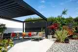 Louvered Roof Outdoor Living Pod Pergola Canopy