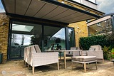 Pergola Canopies with Fabric Roof