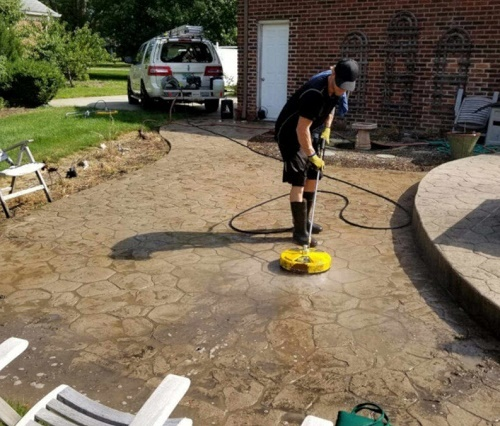 Pressure Washing Service<br />  Profile Photos of ProClean Power Washing Ann Arbor 1327 Jones Drive Suite 106 - Photo 4 of 4