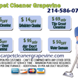 Carpet Cleaner Grapevine TX