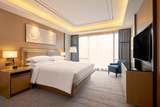 Suite with city view at Hilton Manila