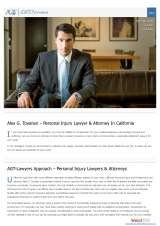 Pricelists of AGT Lawyers – Employment Lawyer and Personal injury lawyer Sacramento - California