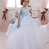 Baby Girls Party Dresses & Frocks of Pink Blue India