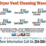 Dryer Vent Cleaning Waco TX