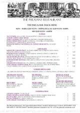 Pricelists of The Pheasant Restaurant