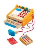 Hape Cash Register £21.99 O'Nessy's Ltd 5 Old Red Lions Court, Bridge Street