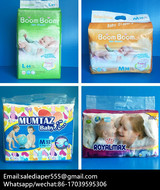 Profile Photos of Chinese OEM Diaper Manufacturer Made Baby Diaper and Baby Nappy