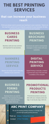 Pricelists of ABC Printing Company