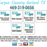 Garland TX Carpet Cleaning