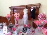 Sweet candy buffet table